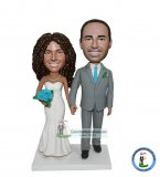 Custom Bride Groom Bobblehead