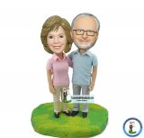 Custome Parents Bobble Heads Anniversary Gifts