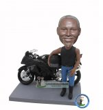 Custom Bobble Head Motorcyclists