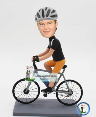 Custom Bobbleheads Lifelike Bike Model