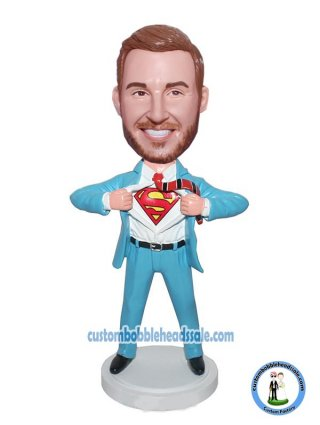 Custom Bobblehead Superman Cheap