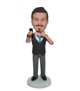 Custom Bobbleheads Photograph