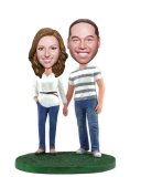 Custom Bobblehead Couple Fast