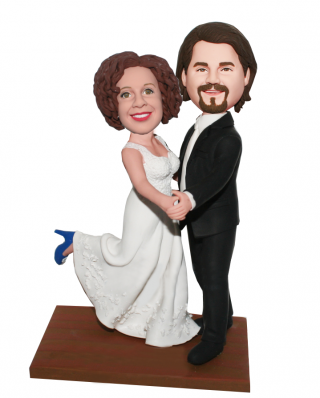 Customized Dance Wedding Bobbleheads Save The Last Dance-Dancing