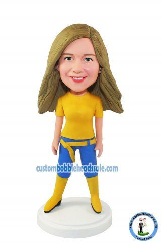 Custom Bobblehead Girls
