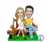 Cheap Custom Made Couple Bobble heads