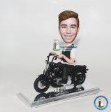 Custom Bobble Head Harley Davidson Motorcycle From Photo