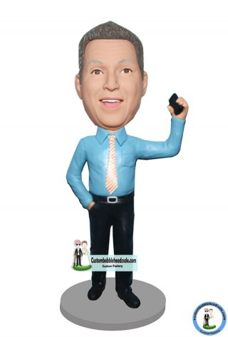 One Custom Bobblehead Call Doll