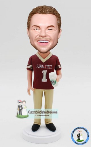 Custom Bobblehead Coffee