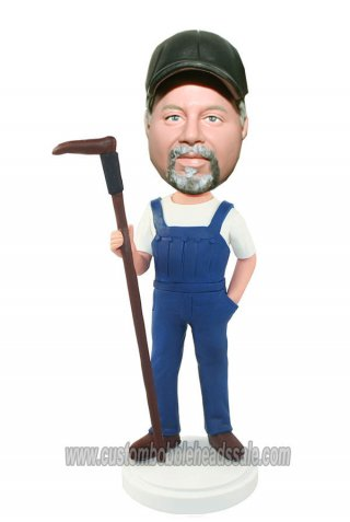 My Own Bobble Head Farmer Bobblehead