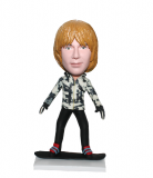 Personalized Bobblehead Skating Boy In A Camouflage Hoodie-Sport