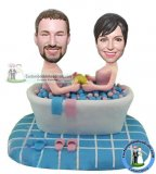 Custom Bathed Bath Bobblehead Dolls Of Yourself