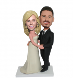 Wedding Cake Topper Design & Customize In Dancing