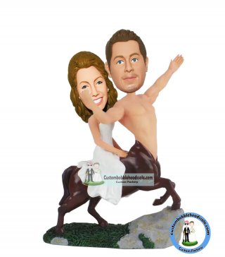 Wedding Cake Toppers Centaur Bobblheads