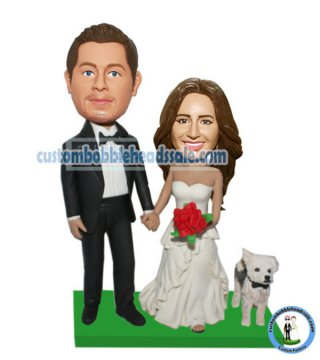 Custom Bobblehead Cake Toppers For Wedding Cheap