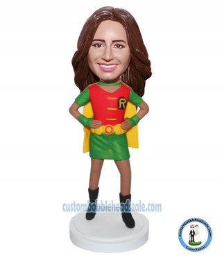 Custom Bobblehead Superhero