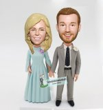 Bauble Head Wedding Cake Toppers Anniversary Gifts