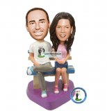 Custom Couple Bobble Head Looks Like Me