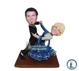 Personalized Dance Wedding Bobbleheads From Photo