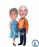 Custom Bobble Head Doll 50th Wedding Anniversary Gifts