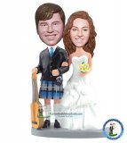 Customized Bobble Head Wedding Dolls
