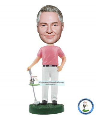 Make Your Own Golf Bobble Head Dolls