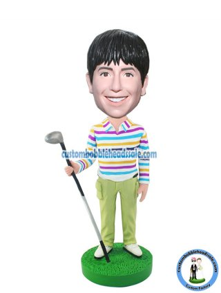 Custom Bobblehead Golf Boy
