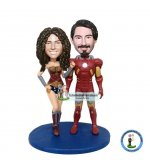 Make Your Own Superman Couple Bobble Head
