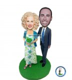 Custom Couple Bobblehead Dolls Anniversary Gift Ideas
