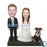 Custom Wedding pets Bobblehead My Own Bobble Head