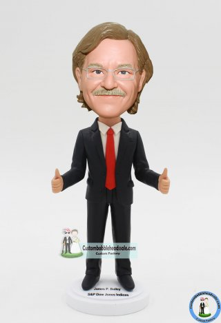 Custom Bobble Head Boss