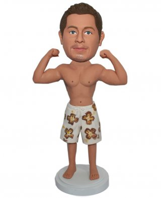 Custom Bobblehead Bodybuilding Muscle