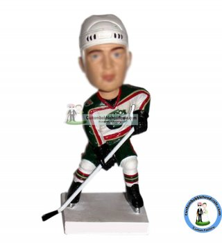Custom NHL Bobblehead from photo
