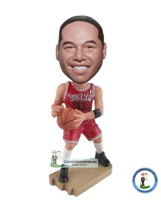 Order Basketball Bollble Head Doll From Photo