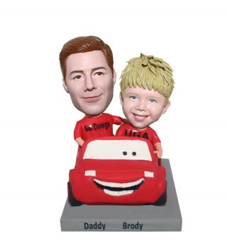 Custom Bobbleheads Father And Son Father's Day gifts