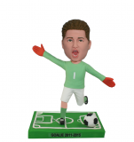 Custom Bobblehead Kicking The Soccer Ball