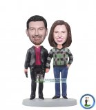 Custom Bobblehead Couple Gifts For Parents