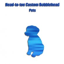 Custom Pets Dog Bobbleheads From Photo