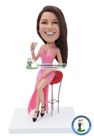 Personalized Sexy Girl Bobbleheads From Photo