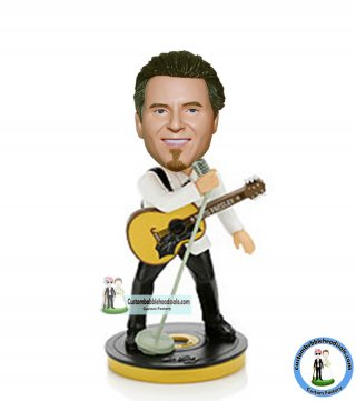 Personal Play The Guitar Sing Song Bobblehead Doll
