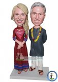 Custom Personalized Bobblehead Couple