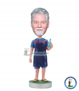 Custom Bobblehead Beer Gifts For Dad