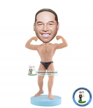 Make Your Own Bodybuilding Muscle Bobblehead Doll Gifts For Men