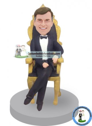 Throne Bobblehead Gifts For An Executive Boss