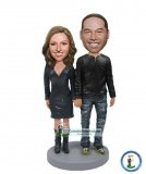 Couple Bobblehead Christmas Gift Ideas