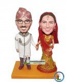 Custom India Wedding Bobble Head