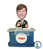 Personalized TV Host Bobbleheads From Photo