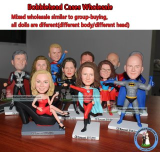 Custom Bobbleheads Mixed Wholesale Corporate Gifts 5+