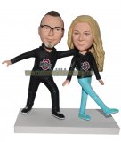 Personalized Bobblehead Couple From Photo