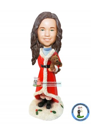 Personalised Christmas Bobble Heads Christmas Gifts